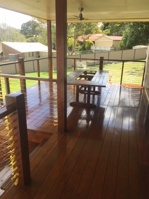 Hazlemount Tce Newly Created Deck  | Kingaroy